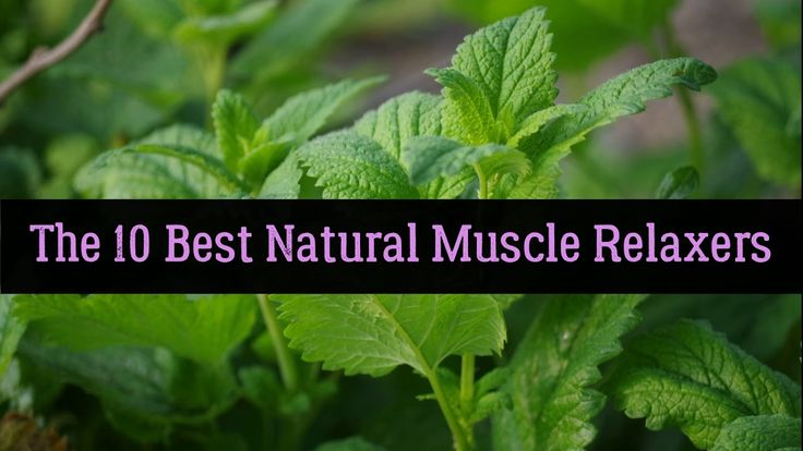 The 10 Best Natural Muscle Relaxers