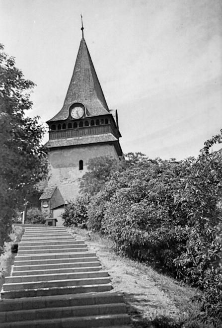 az Avasi református templom harangtornya.