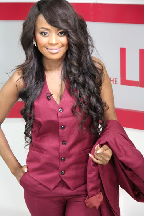 Lerato Kganyago is a South African model and TV host. She is from Soweto, South Africa. She was crowned Miss Jam Alley in 2002 and Miss Soweto in 2005. She hosts a TV talk show for Soweto TV. She hosted the Fifa Soccer World Cup for the SABC.