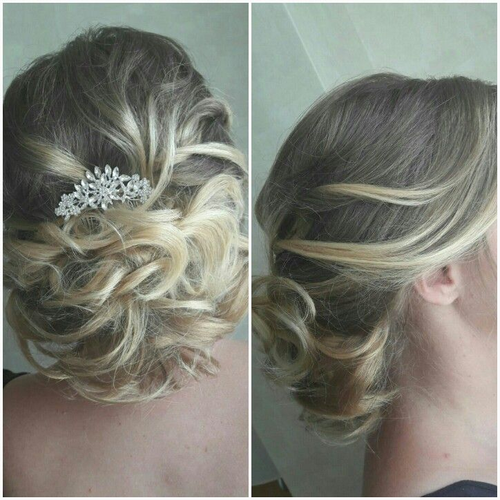 www.brideshair.co.uk  Pretty chignon
