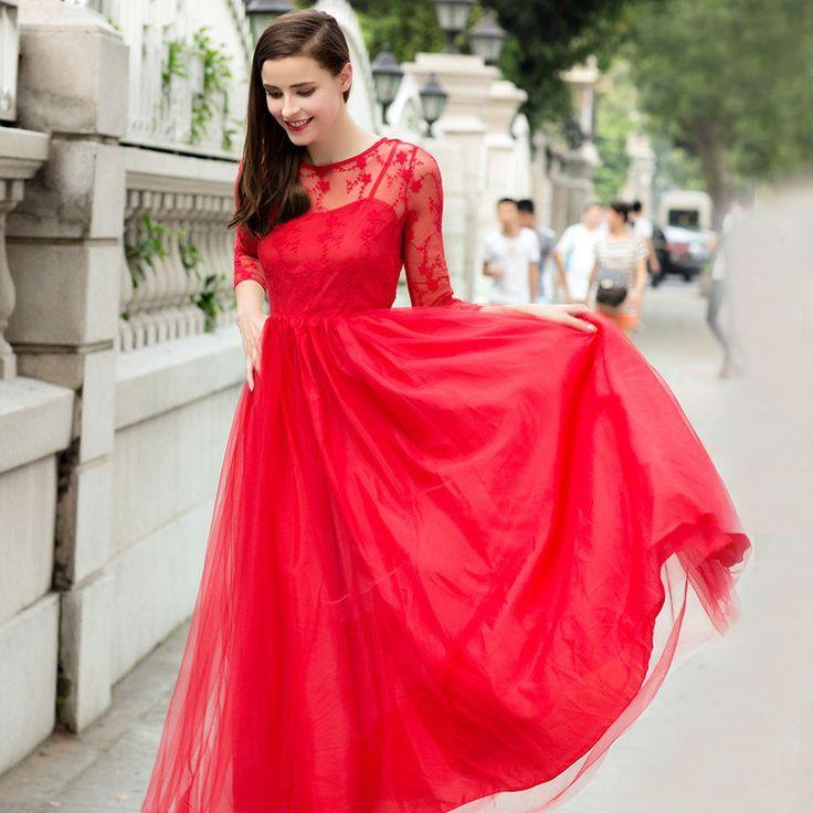 zomer jurken kawaii long sleeve maxi vestidos kleider robe courte robe longue vestidos de fiesta lace floral maxi dress