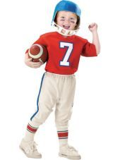 Toddler Boys Lil Quarterback Football Costume-Party City