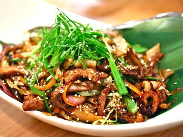 mustard greens recipes dishmaps potlikker noodles with mustard greens ...