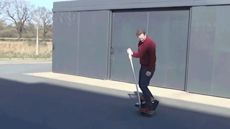 This Ball-Balancing Segway Clone Uses Physics to Safely Scoot You Around