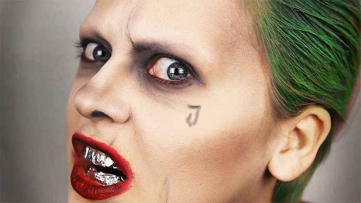 Jared Leto ♠️ JOKER ♦️ Suicide Squad ♣️ Makeup Transformation #джАкир
