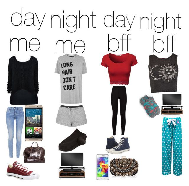 """""""sleepover at my bff's house"""" by holli-zorra2015 on Polyvore featuring City Chic, G-Star, Converse, HTC, Tom Ford, Topshop, Wolford, BDI, Samsung and Lipsy"""