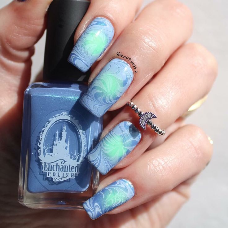 263 best Blue and Purple Nails images on Pinterest