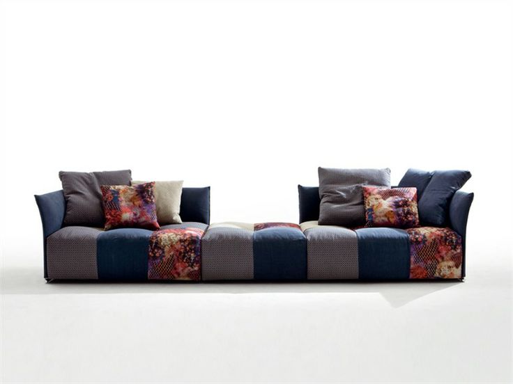 Modular Upholstered Sofa PIXEL   Saba Italia