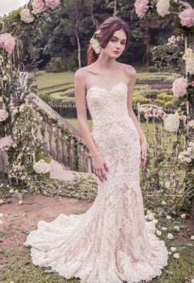 Snow by Annasul Y Wedding Dress Inspiration
