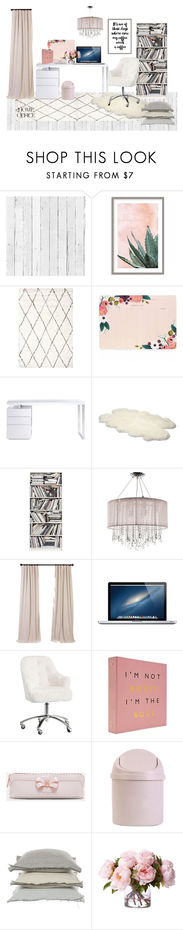 """""""Untitled #92"""" by uaresobeautiful ❤ liked on Polyvore featuring interior, interiors, interior design, home, home decor, interior decorating, NLXL, Art Addiction, Rifle Paper Co and Bellini"""
