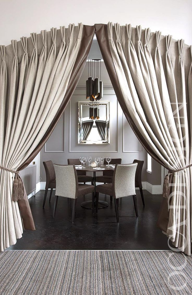 Hotel Interior Design, Restaurant Interior Design, Private Dining Room, Leather Chairs, Contemporary Lighting,  Neutral Interior, Georgian hotel, Stackable Chairs