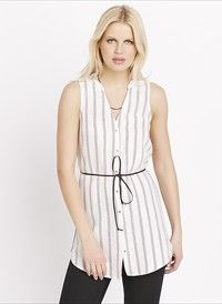 Belted Striped Tunic. Grab wonderful discounts up to 50% Off at Dynamite Clothing using coupon & Promo Codes