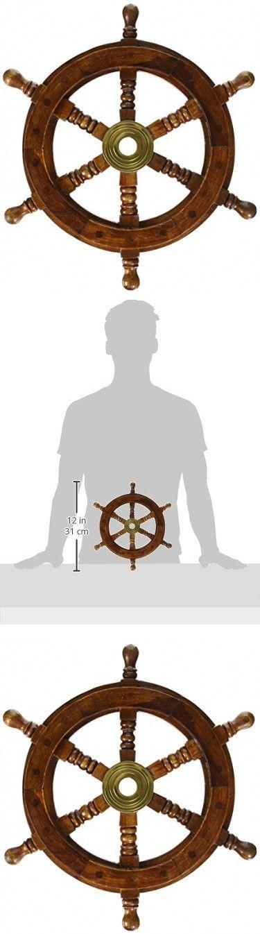 """SAILORS SPECIAL 8760 Ship Wheel, 12"""""""
