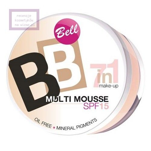 Bell, BB Multi Mousse 7 in 1, Wielofunkcyjny podkład w musie