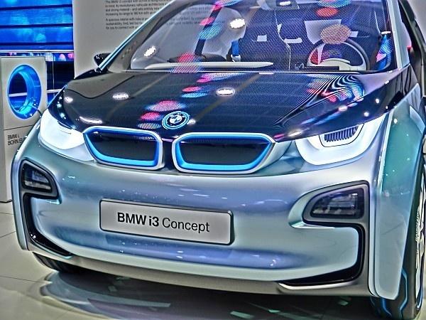 elektroauto von bmw der bmw i3 electric vehicle. Black Bedroom Furniture Sets. Home Design Ideas