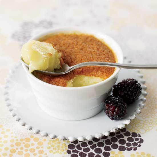 Cytrynowe ciasteczka puddingowe