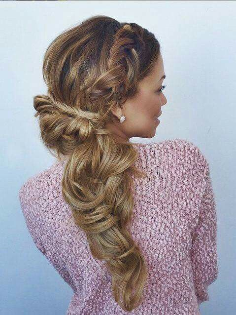 87 best Beautiful hairbraids images on Pinterest | Hairstyle ideas ...
