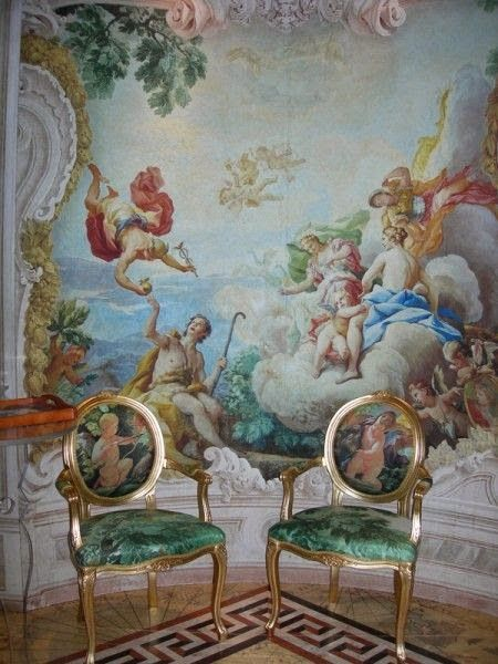 Eye For Design Decorating With Murals And Frescoes