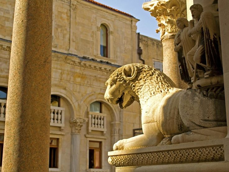 Ready To Admire One The Best Preserved Palaces From Roman Empire Time? Diocletian Palace Is Waiting For You In Split, Croatia...Since Many Many Centuries