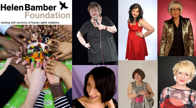 Jo Brand, Jenny Eclair, Shazia Mirza and friends featured in our all-female fundraiser 'Crying With Laughter' for survivors of cruelty at Helen Bamber Foundation