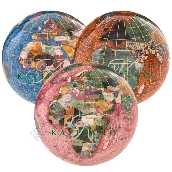 30 best gemstone globes images on pinterest gem gemstone and the bahama blue gemstone globe paperweight is a great choice for a decorative paperweight globe manufactured with some of the best quality semi precious gumiabroncs Image collections