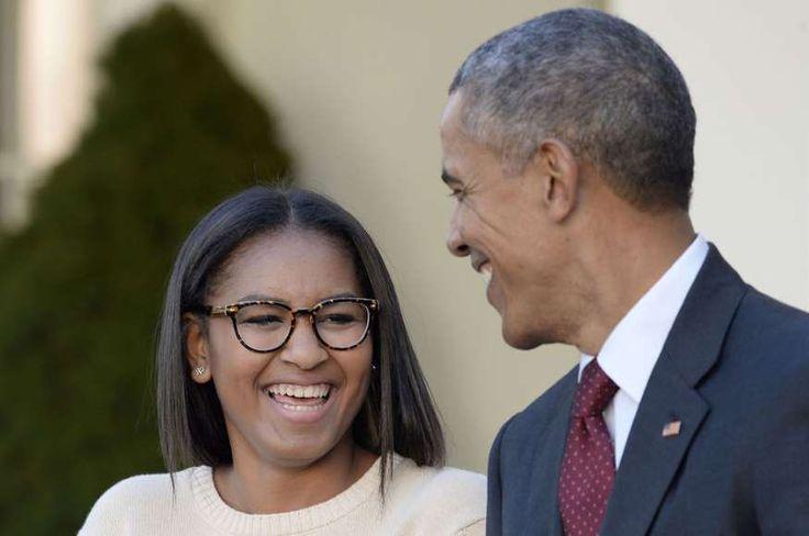 Dernier discours de Barack Obama : mais où était sa fille Sasha ?