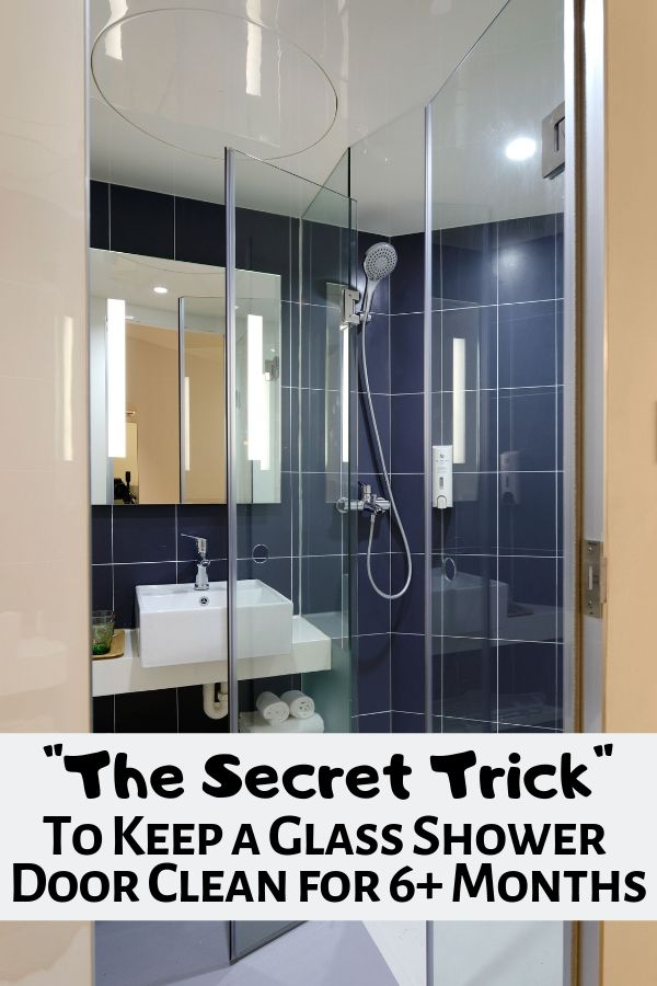 How To Keep A Glass Shower Door Clean Cleaning Ideas Clean