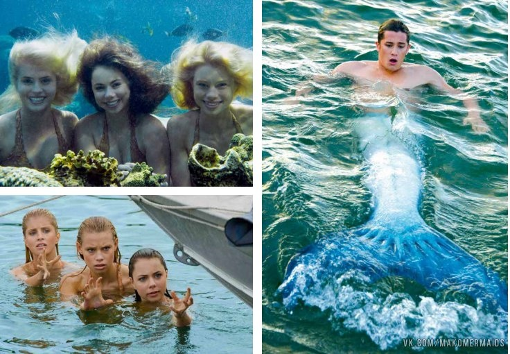 Mako Mermaids. It could be considered sad that I'm so excited to watch this