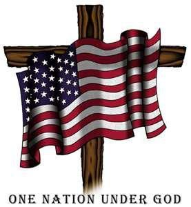 One Nation Under God! Please America say this prayer!!! Our American can not survive without our Father.