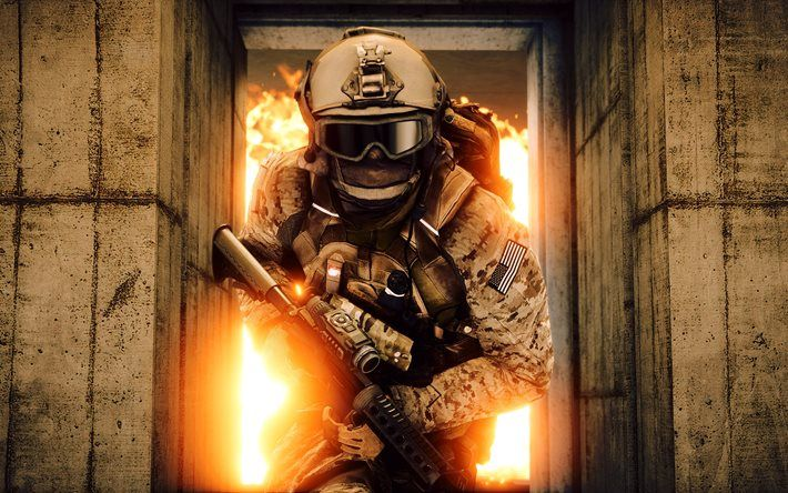 Battlefield IV, special forces, US, Battlefield 4