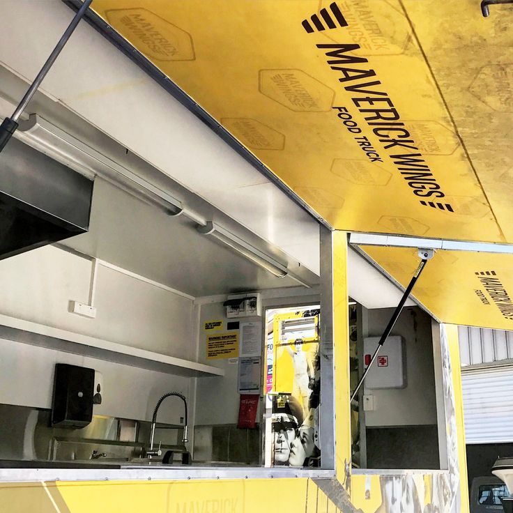 Maverick Wings® - Food Truck was designed to be functional.
