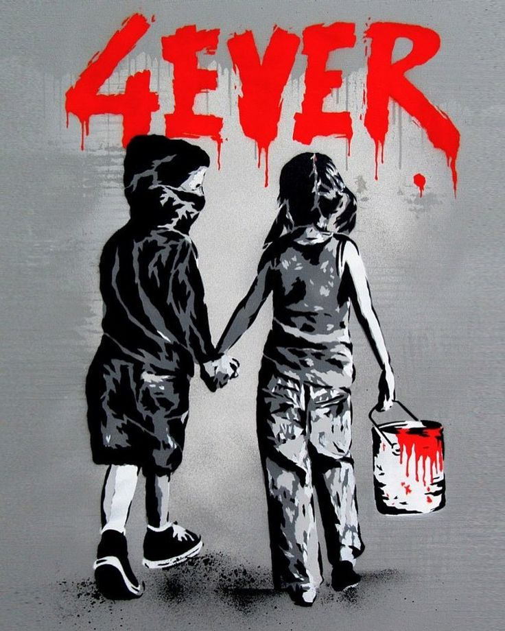 4EVER on canvas by @alessiob71  350€ | $  Make your order! Check out Alessio B's shop on StreetArtAndGraffiti.com. Worldwide shipping!  #StreetArtAndGraffiti #FromTheStreetToYourWall