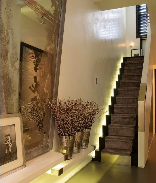 21 Staircase Lighting Design Ideas Pictures: South Shore Decorating Blog: A Notting Hill Townhouse By