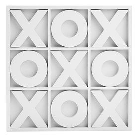 Tic Tac Toe - White, kmart, levani would actually love playing this with me