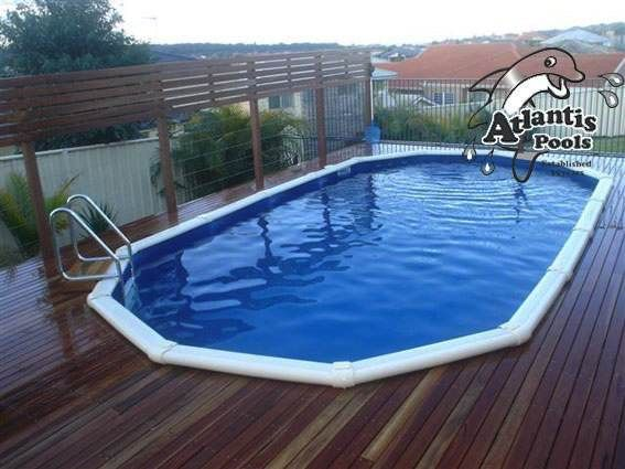 above ground pool atlantis pools australian made above ground swimming pools above ground pool. Black Bedroom Furniture Sets. Home Design Ideas