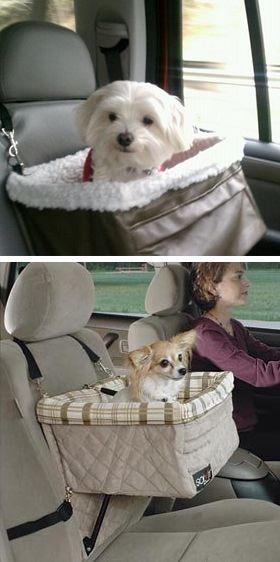 Pet Booster Seat // for the super spoiled pooch! Haha... #designer_pet