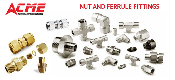 Manufacturer of nut and ferrule fittings offered by ACME Industrial Equipment's Company. We offer Nuts & Ferrule Fittings in various types, thickness, series, threads and sizes. Get theTotal Information and  best manufacturers, suppliers & exporters of Nut and Ferrules in Hyderabad, Telangana visit our ACME Industrial Equipment 's Company. Our Website : https://goo.gl/WQftiH       OR   Call us :  9908082672 #nut #ferrule #ferrules #nutandferrule