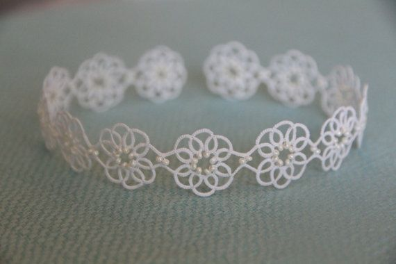 Tatting lace bracelet pdf pattern Clematis by TheKimAndI on Etsy