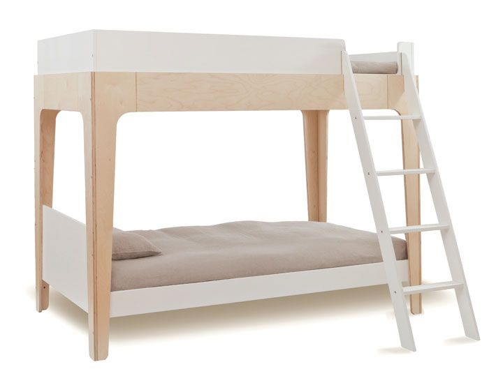 The versatile Perch easily separates into a loft bed and a standalone twin, giving many configuration options.