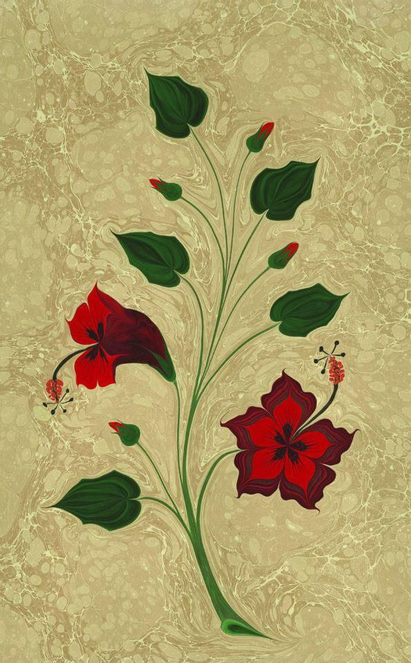233 Best Images About Ebru Turkish Marbled Paper On