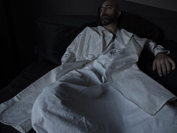 A-line silk coat, donnakaran.com