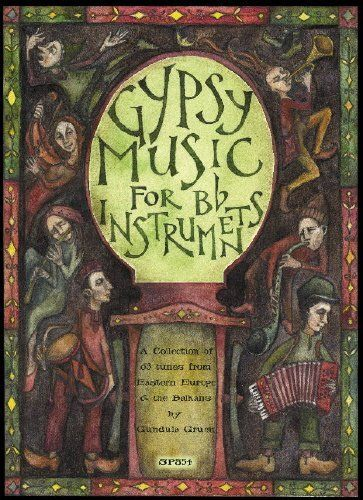 From 14.75 Spartan Press Music Gipsy Music For Bb Instruments  Cd Sheet Music Pop Rock Music From All Over The World