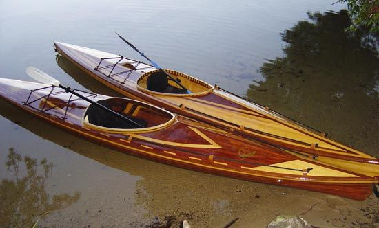 14 ft Great Auk recreational kayak ideal for sheltered water