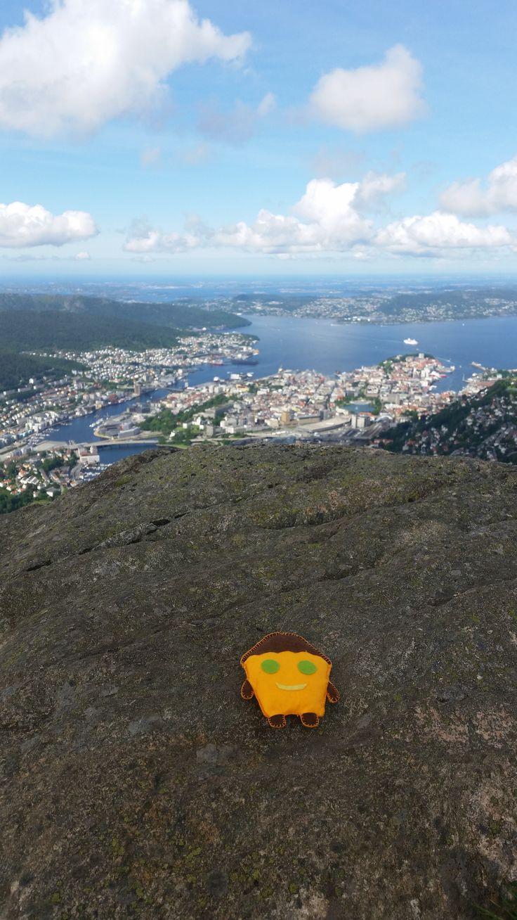 Tosiek podziwia Bergen, Szwecja