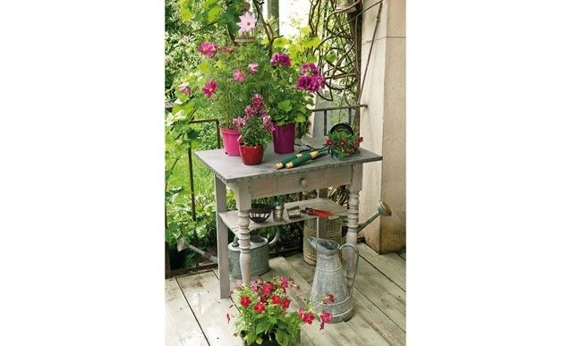 343 best images about jardin on pinterest manche videos for Fabriquer sa table de jardin