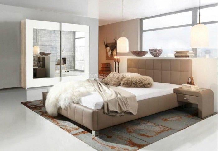 Čalouněná postel Vanesa 90x220cm - postele v akci - Aza nábytek