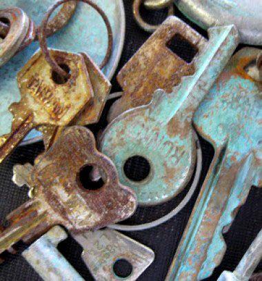 Rust and patina easily with vinegar and salt // Patinázás és rozsda házilag egyszerűen (ecettel és sóval) // Mindy - craft & DIY tutorial collection