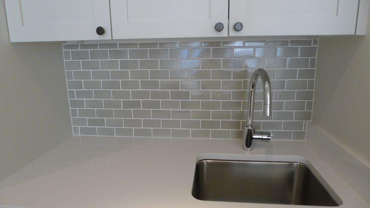 Ann Sacks 2 X 4 Grey Subway Tile Backsplash Jmorrisdesign