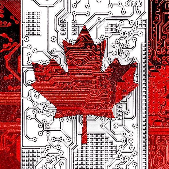 circuit board Canada (Flag)