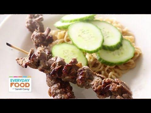 stick it ginger garlic steak satay recipes dishmaps satay melt beef ...